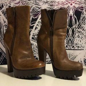 William Rast leather boots